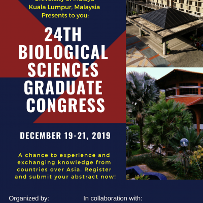 24TH BIOLOGICAL SCIENCES GRADUATE CONGRESS 2019